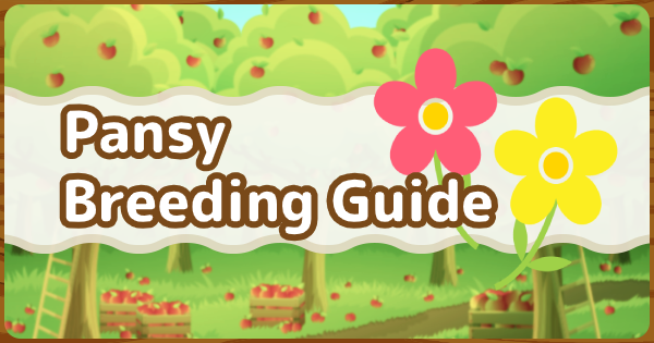 ACNH | Pansy Breeding Guide - How To Get All Color Variations | Animal Crossing - GameWith