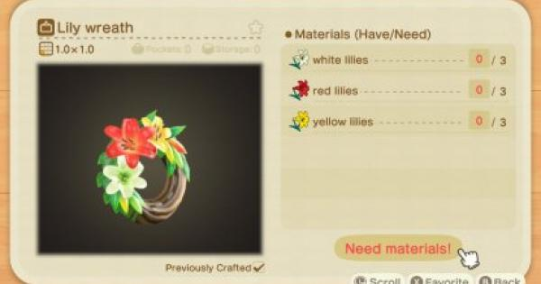 ACNH | Lily Breeding Guide - How To Get All Color Variations  | Animal Crossing - GameWith
