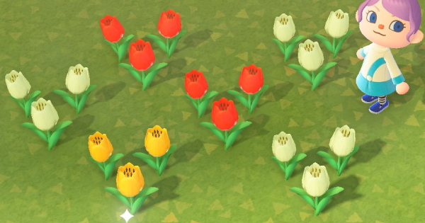 animal crossing new horizons flowers breeding guide