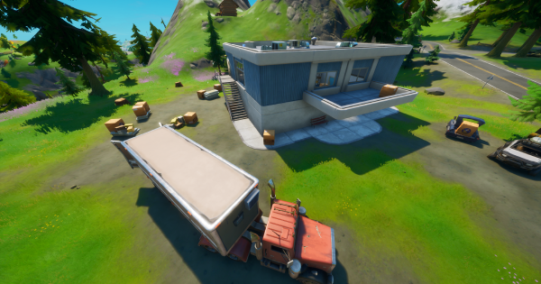 Fortnite | Box Factory Location - Where To Hide in a Creepin' Cardboard - GameWith