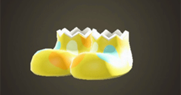 ACNH | Stone-egg shoes - How To Get DIY Recipe & Required Materials | Animal Crossing - GameWith