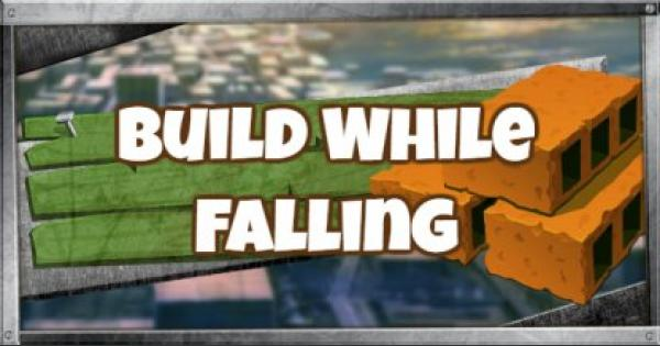 Fortnite | Build As You Fall