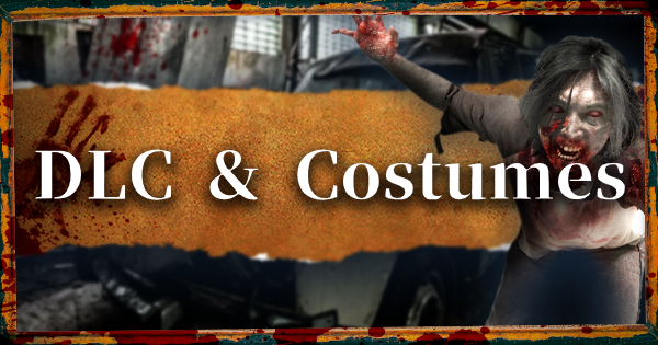 DLC Plans - Costumes & Contents
