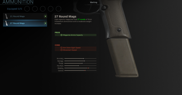Warzone | 27 Round Mags - Magazine Stats | Call of Duty Modern Warfare - GameWith