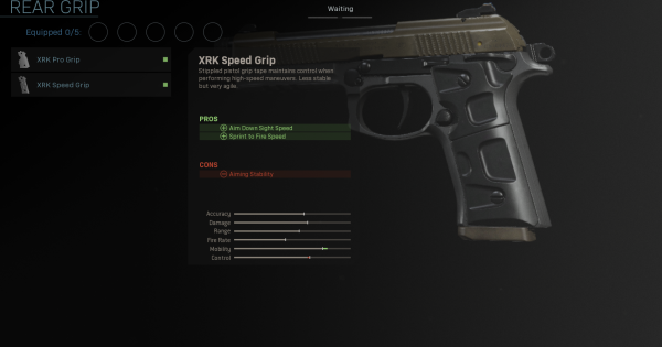 【Warzone】XRK Speed Grip - Rear Grip Stats【Call of Duty Modern Warfare】 - GameWith