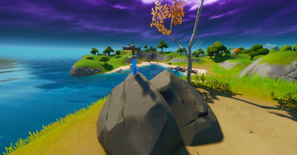 Fortnite | Skye's Sword Location - GameWith