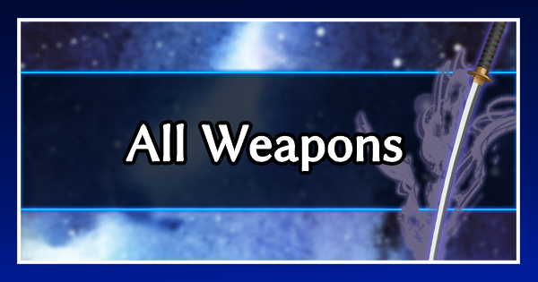 FF7 Remake | All Weapons List | Final Fantasy 7 Remake - GameWith