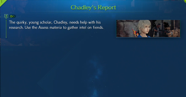 【FF7 Remake】Quest 1: Chadley's Report Guide【Final Fantasy 7 Remake】 - GameWith