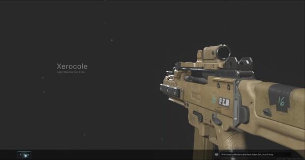 Warzone   Xerocole LMG LMG  Blueprint - Stats & How To Get   Call of Duty Modern Warfare - GameWith