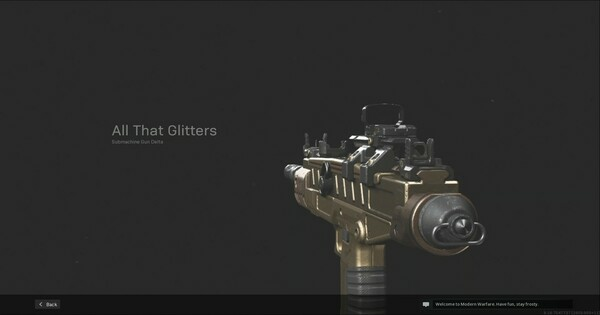 【Warzone】All That Glitters SMG  Blueprint - Stats & How To Get【Call of Duty Modern Warfare】 - GameWith