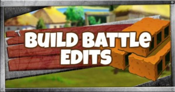 Fortnite | Editing Guide - Build Battle Edits - GameWith