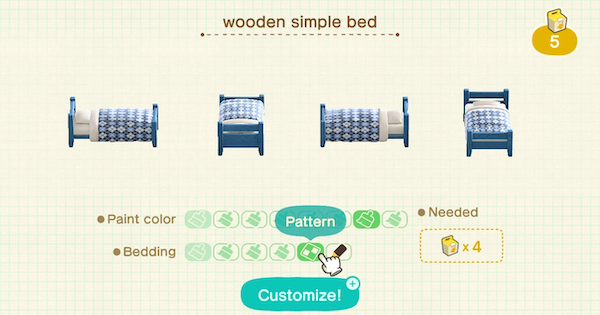 ACNH | Furniture & Phone Customization - How To Get Sable Patterns | Animal Crossing - GameWith