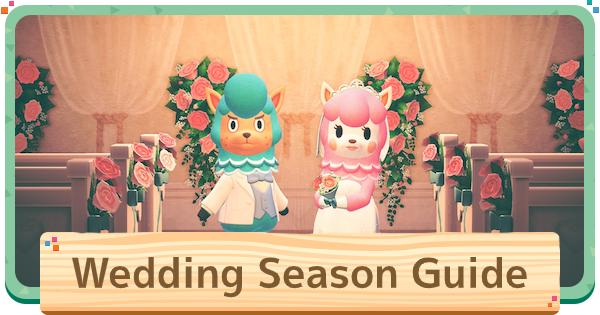 ACNH | Wedding Season Event - Items & Rewards | Animal Crossing - GameWith