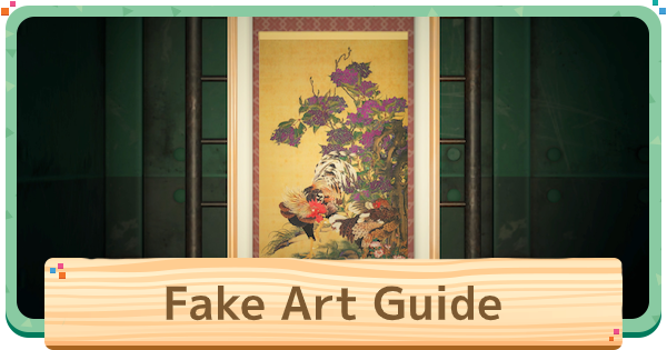 【ACNH】Fake Art VS Real Art Guide - Paintings & Statues List【Animal Crossing New Horizons】 - GameWith