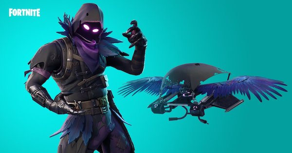 Fortnite | RAVEN Skin - Set & Styles - GameWith
