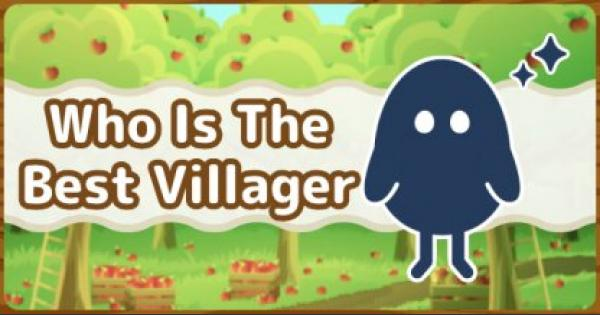 Villager Tier List - Who Are The Best Villagers