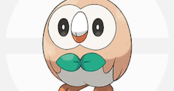 Pokemon Sword Shield | Rowlet - Evolution & Weakness - GameWith