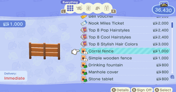ACNH | Fence Types & Recipe List - Where To Get Fences | Animal Crossing - GameWith