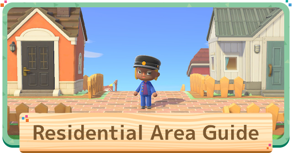 Acnh Residential Area Ideas How To Build Animal Crossing Gamewith