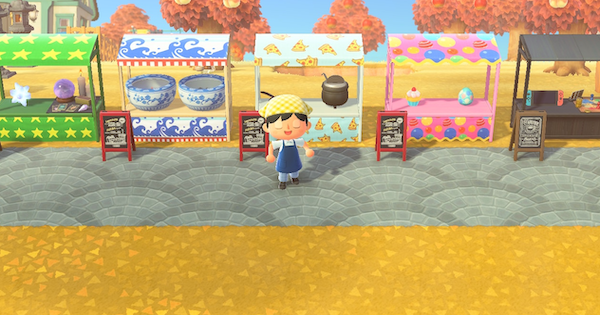 【Animal Crossing】Stall Ideas & Designs - Street Market Guide【ACNH】 - GameWith