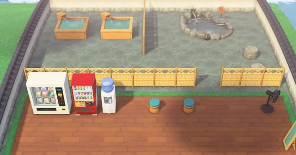 【ACNH】Outdoor Bath Designs - How To Make A Hot Spring【Animal Crossing New Horizons】 - GameWith