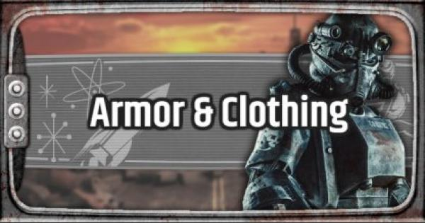 Fallout 76 | Armor & Clothing List - Stats  &  Resist - GameWith