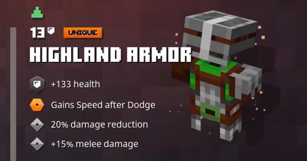 Highland Armor | Minecraft Dungeons - GameWith