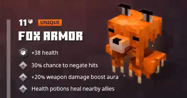 Fox Armor | Minecraft Dungeons - GameWith