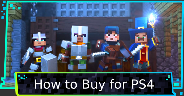 How To Buy For Playstation 4 (PS4) | Minecraft Dungeons - GameWith