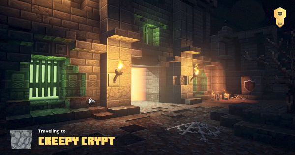 Creepy Crypt - Secret Mission Walkthrough & Drops | Minecraft Dungeons - GameWith