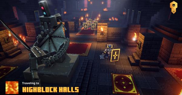 Highblock Halls - Secret Level, Runes & Unique Drops | Minecraft Dungeons - GameWith