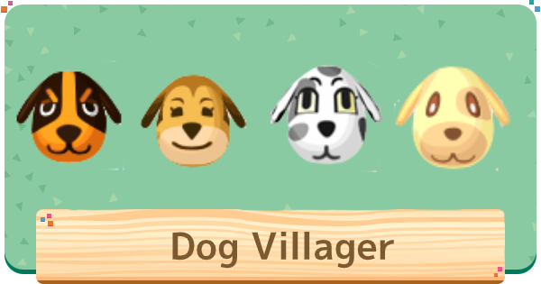 ACNH | Dog Villagers / Characters List | Animal Crossing - GameWith