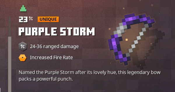Purple Storm | Minecraft Dungeons - GameWith