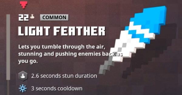 Light Feather | Minecraft Dungeons - GameWith