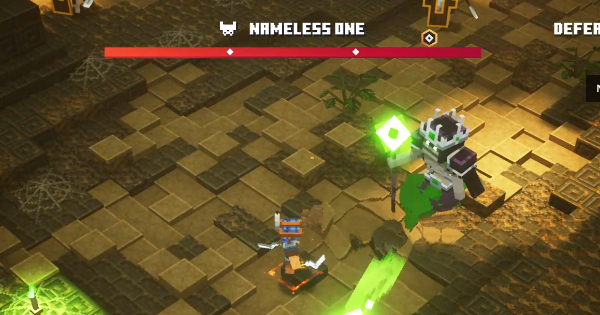Minecraft Dungeons | Nameless One - Boss Guide & How To Beat - GameWith