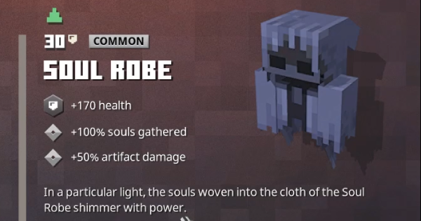 Soul Robe | Minecraft Dungeons - GameWith