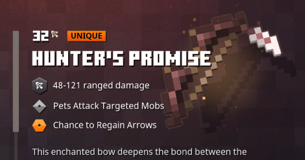 Minecraft Dungeons Hunter S Promise Gamewith