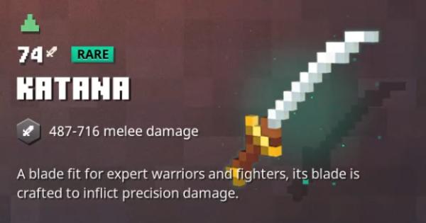 Katana Minecraft Dungeons GameWith