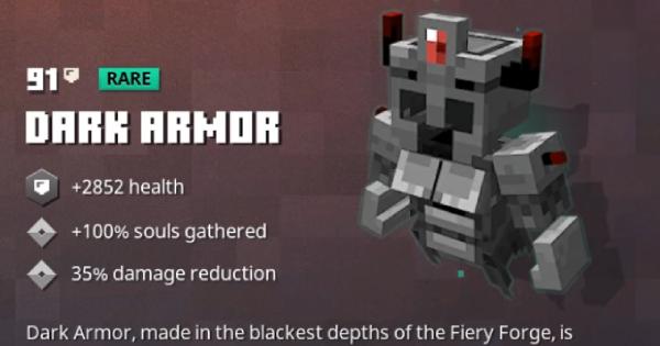 Dark Armor   Minecraft Dungeons - GameWith