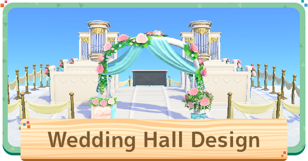 Animal Crossing Wedding Design Ideas How To Make A Wedding Hall
