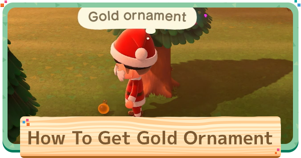 【ACNH】Gold Ornament - How To Get & Recipes【Animal Crossing New Horizons】 - GameWith