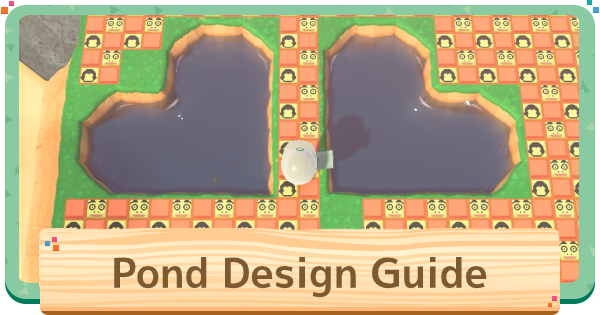 【Animal Crossing】Pond Design Ideas - How To Make Lakes & Ponds【ACNH】 - GameWith