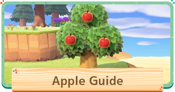 【ACNH】Apple (Fruit) - Price & Uses【Animal Crossing New Horizons】 - GameWith