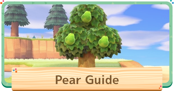 【ACNH】Pear - Price & Uses【Animal Crossing New Horizons】 - GameWith