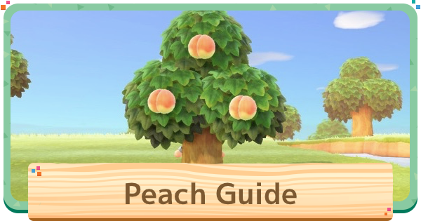 ACNH | Peach - Price & Uses | Animal Crossing - GameWith