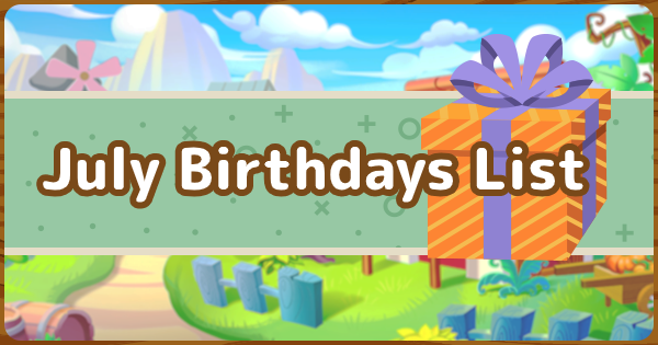 【Animal Crossing】July Villagers - Birthdays In July【ACNH】 - GameWith