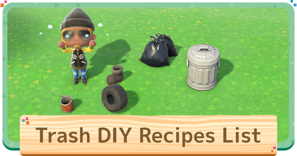 ACNH | Trash - DIY Recipes & How To Get | Animal Crossing - GameWith