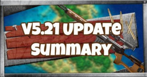 Fortnite | v5.21 Update Patch Note Summary - August 15, 2018