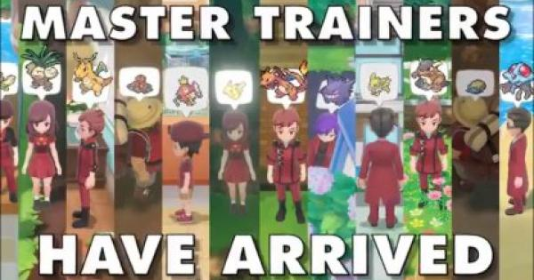 Pokemon Let's Go | Master Trainers - Info, Battle, and Reward