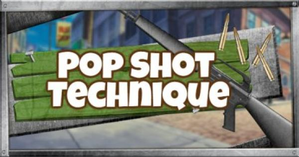 Fortnite | Shooting Tips - The Pop Shot Technique - GameWith